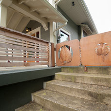 Traditional Porch by Encircle Design and Build