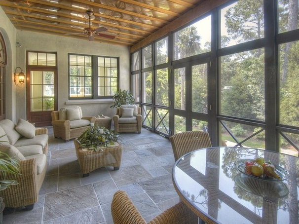 Traditional Porch by Golden Isles Custom Homes, LLC