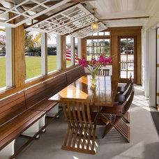 Beach Style Porch by Flagg Coastal Homes