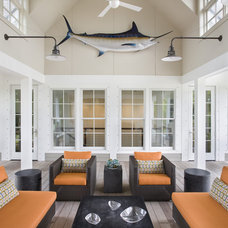 contemporary porch by John Clemmer Photography