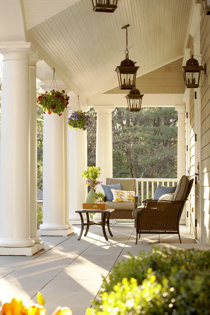 traditional porch by Oak Hill Architects