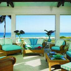 beach style porch by Anthony Baratta LLC