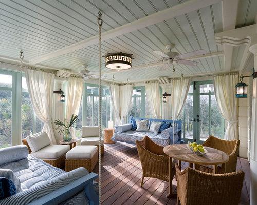 abgeschirmte outdoor gestaltung maritim ideen f r. Black Bedroom Furniture Sets. Home Design Ideas