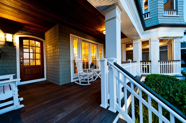 Traditional Porch by Monetti Custom Homes