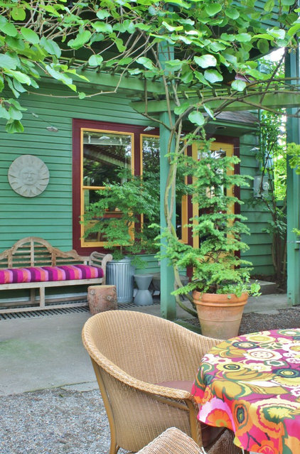 Eclectic Porch by Kimberley Bryan