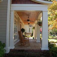 Traditional Porch by Cox Architecture and Design