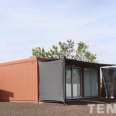 Contemporary Porch by Tenshon, LLC
