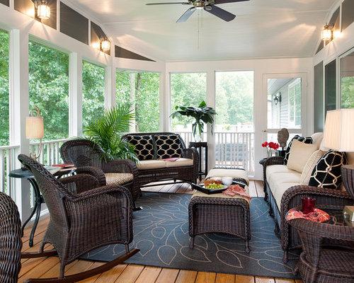 Screen Porch Furniture Home Design Ideas Pictures