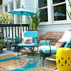 Asian Porch by Mina Brinkey