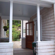 Traditional Porch by Midcoast Home Designs