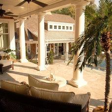 Traditional Porch by VanBrouck & Associates, Inc.