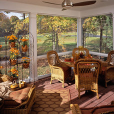 Traditional Sunroom by Witt Construction