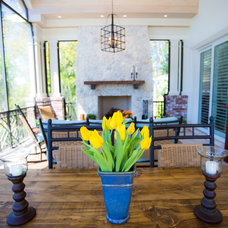 Traditional Porch by Perrone Construction