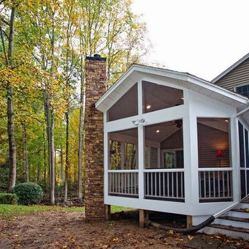 Single Family Home Addition in Oakton, Virginia Gets Facelift Inside and Out