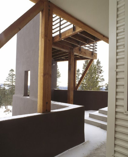 traditional porch by Webber + Studio, Architects