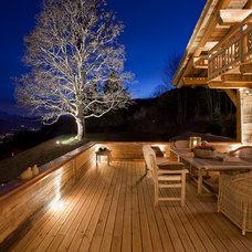 Eclectic Porch by MCM Designstudio