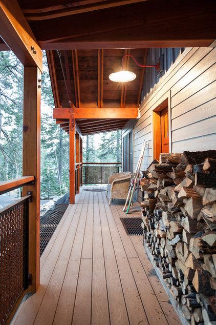 Rustic Porch by Kat Alves Photography