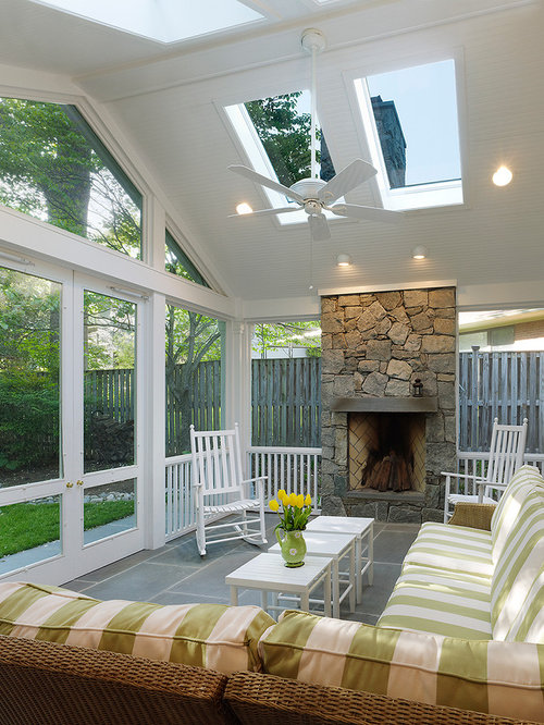 Houzz | 50+ Best Screened-In Porch Pictures - Screened-In Porch ...