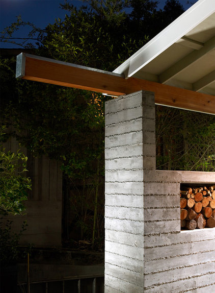 Modern Porch by Michael Tauber Architecture