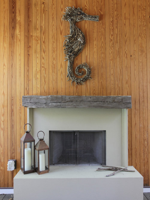Driftwood Mantel Ideas Pictures Remodel And Decor