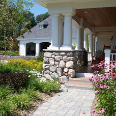 Traditional Porch by Common Ground Landscapes