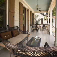 Traditional Porch by Dominick Tringali Architects