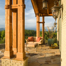 Traditional Porch by LGB Interiors