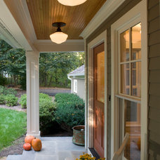 Traditional Porch by Moore Architects, PC