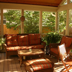 traditional porch by Kuechle Construction