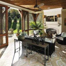 Traditional Porch by Burke Coffey Architecture Design Inc.
