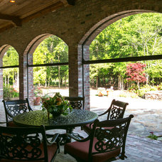 Traditional Porch by Terry M. Elston, Builder