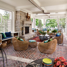 Farmhouse Porch by David Bader Photography