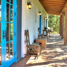 Mediterranean Porch by Kari Architect