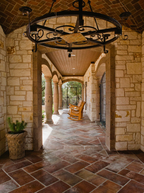 Southwestern Front Porch Design Ideas Remodels Amp Photos