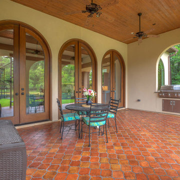 Spanish style in The Woodlands