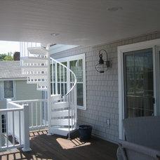 Traditional Porch by DC Studio LLC