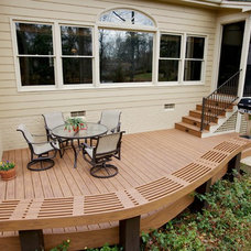 Traditional Porch by Wood Wise Design & Remodeling