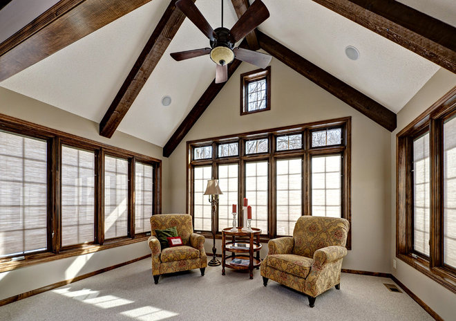 Traditional Porch by Knight Construction Design   Chanhassen, Minnesota