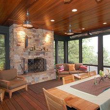 Traditional Porch by Amazing EZ Screen Porch Windows