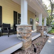 Contemporary Porch by Mosby Building Arts
