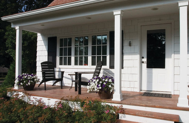 Traditional Porch by Anna Berglin Design