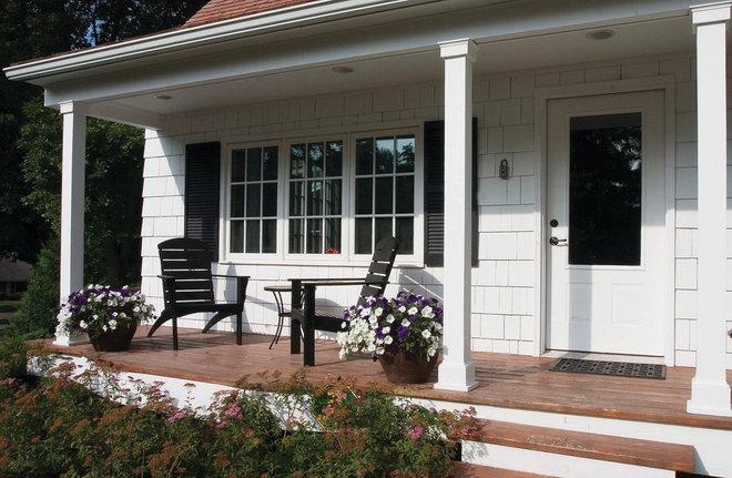 Traditional Porch by Anna Berglin Design