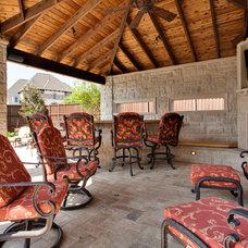 Traditional Porch by Barbara Gilbert Interiors