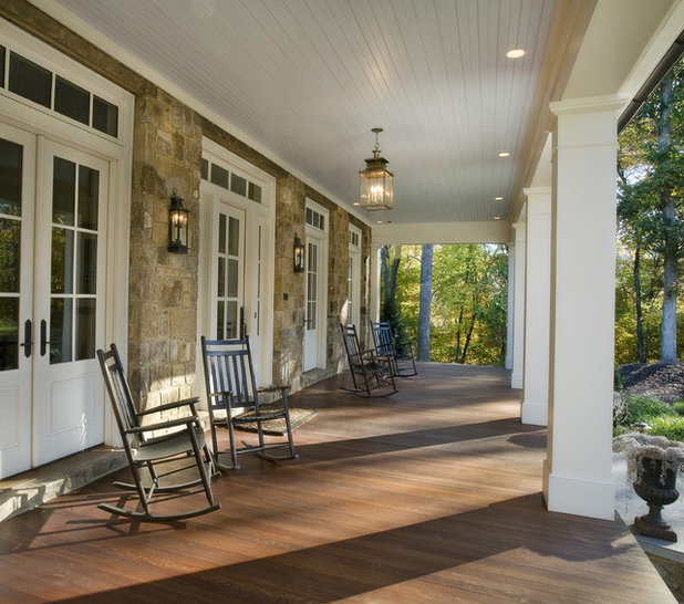 Traditional Porch by Norris Architecture