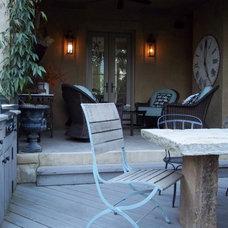 Traditional Porch by Troy Rhone Garden Design