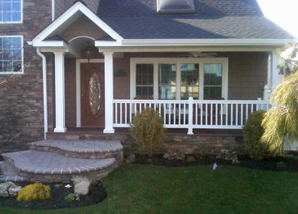 Traditional Porch by Ambassador Home Improvement