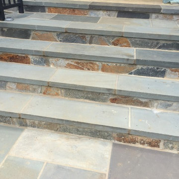 Stone Work for Stairs