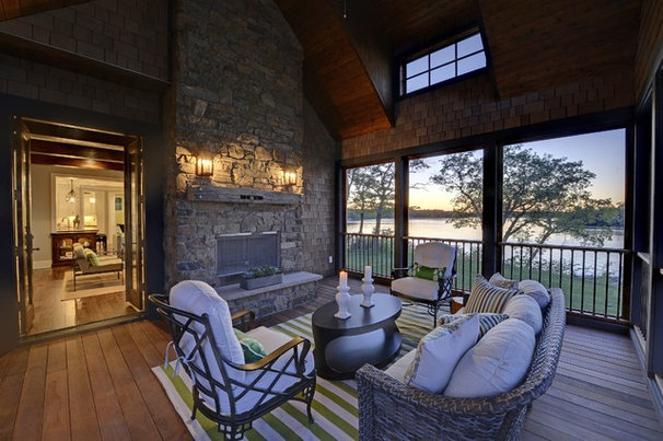 Traditional Porch by Spacecrafting / Architectural Photography