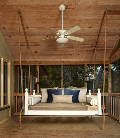 Tropical Porch by Vintage Porch Swings LLC
