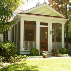 Traditional Porch by Gochnauer Construction